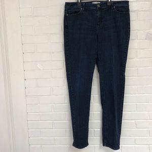 J.jill jeans dark wash size 14